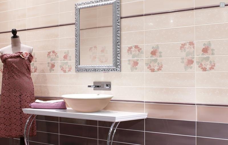 Piastrelle bagno rosa antico. best focus piastrelle in ceramica